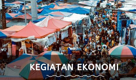 Bagaimana Kegiatan Ekonomi Penduduk di Daerah Dataran Rendah