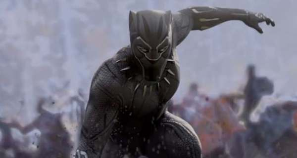 Image of Chadwick Boseman as T'Challa / Black Panther in Black Panther movie