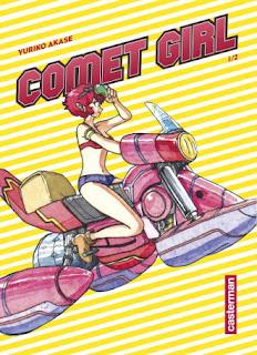 Manga Comet Girl tome 1 aux éditions Casterman