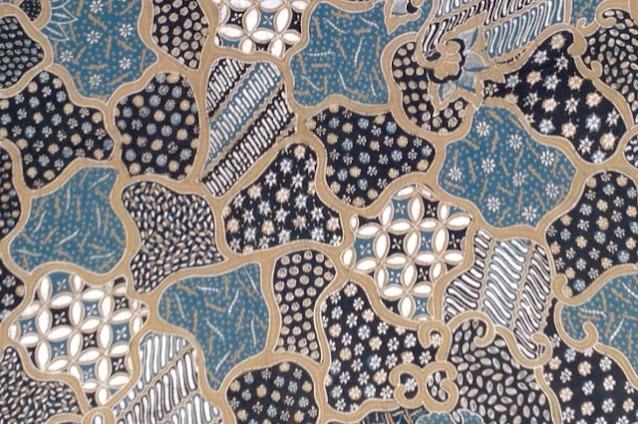 Motif Batik Sekar Jagad