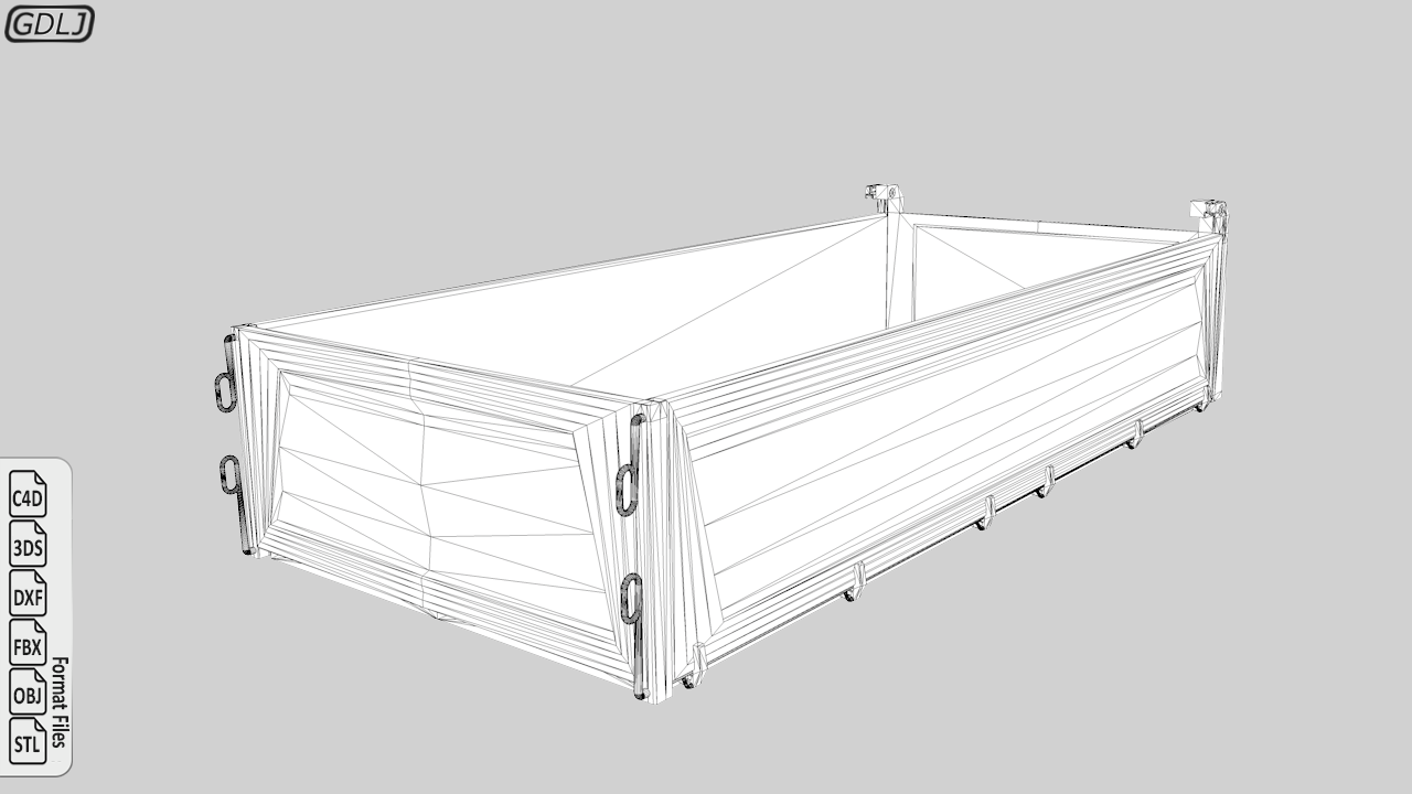 Tipper Truck 3D Model Ready to 3D Print