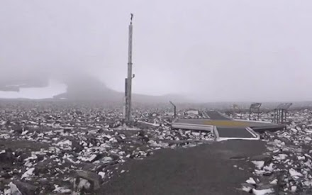 Ιούλιος με χιόνια στη Νορβηγία