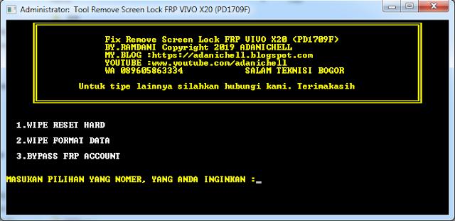 FIx Lupa Pola Vivo X20 (PD1709F)