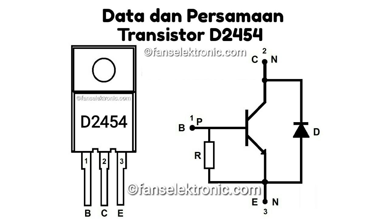 Persamaan Transistor D2454