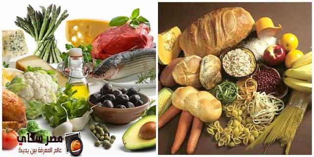 كيفية خلط ومطابقة أطعمة الحمية الغذائية Diet