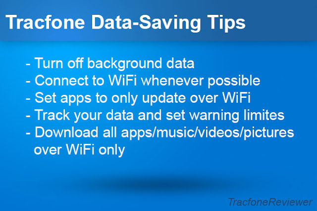 tracfone data saving tips