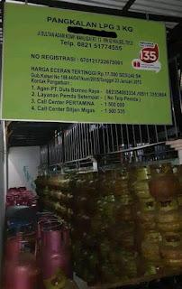 Jual diatas HET, 940 tabung melon disita