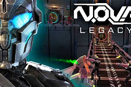 Download Games Android NOVA Legacy MOD Apk Unlimited Money