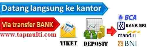 panduan cara deposit