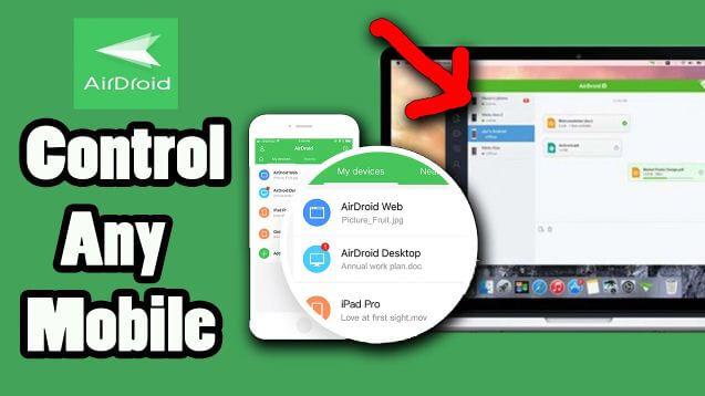 تحميل, وشرح, طريقة, استخدام, برنامج, AirDroid ,Remote ,access ,File