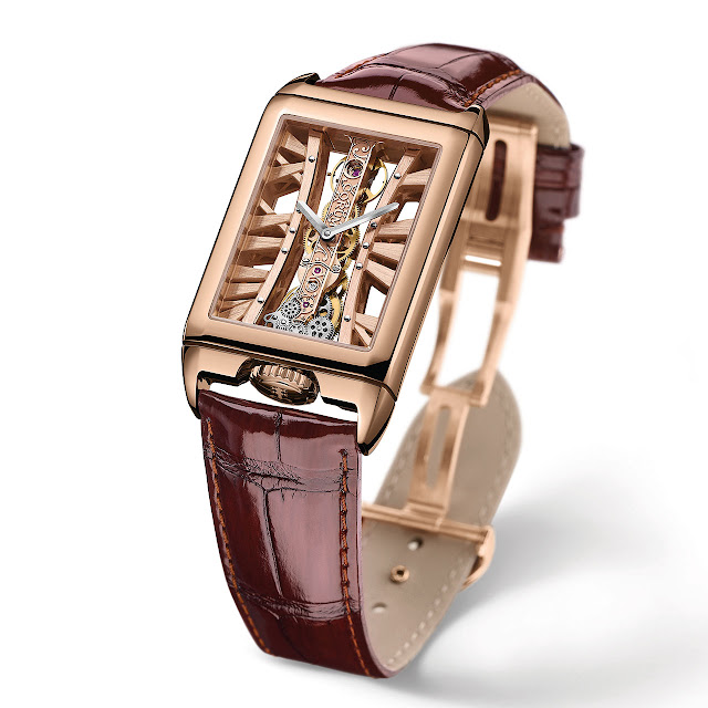 Corum Golden Bridge Rectangle Mechanical Hand-wound Watch