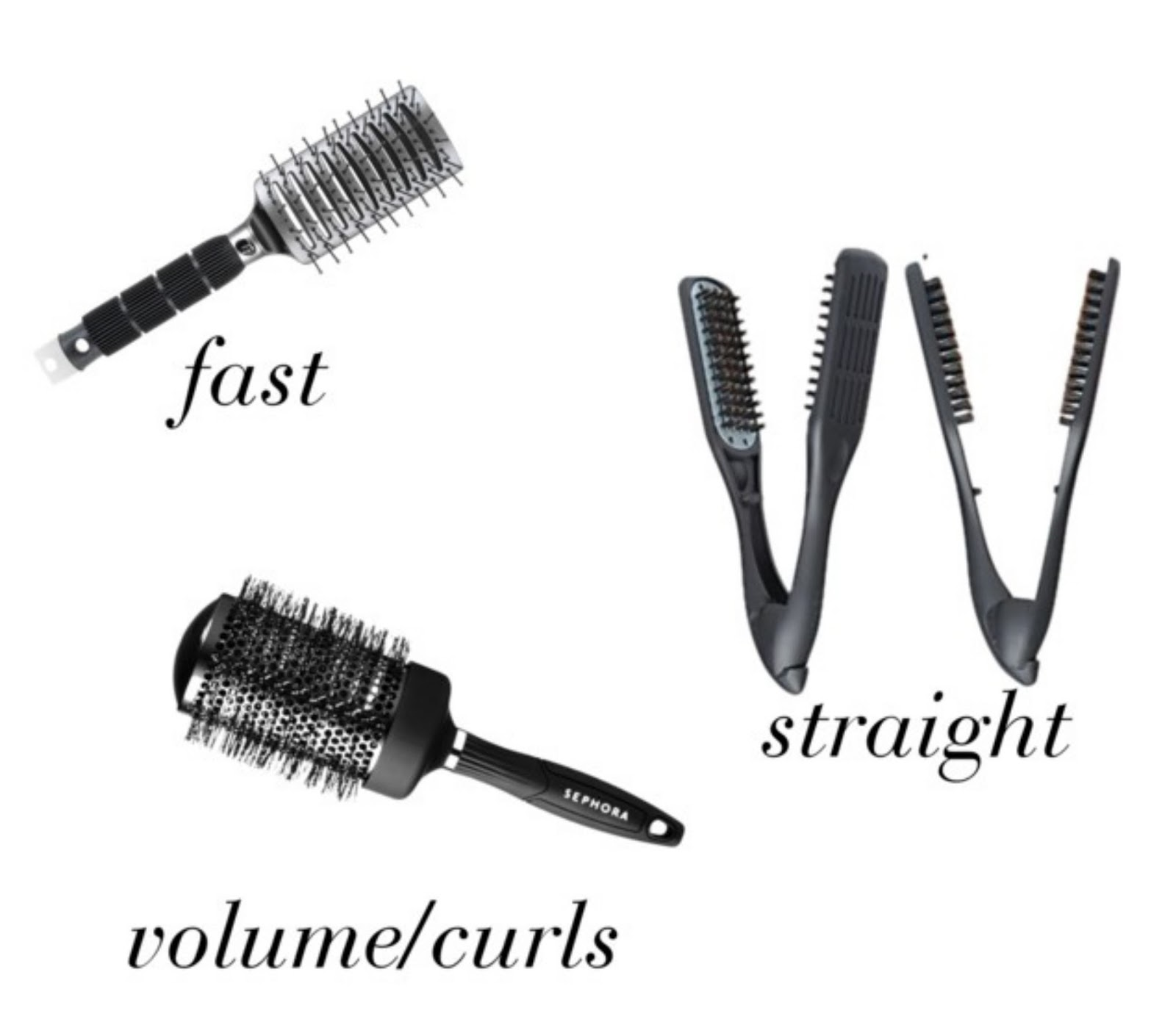 Blow Out Brushes 101 Hair Styles Collection Bedoyo