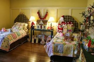 dormitorio infantil navidad