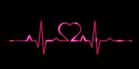 love-heart-beat-black-bg-getpics