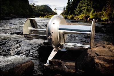 Hidroturbina de riu. Una turbina capaç d'alimentar una casa