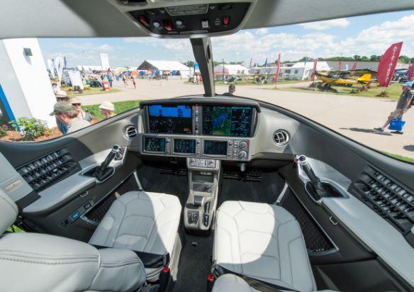 Cirrus Vision SF50 cockpit