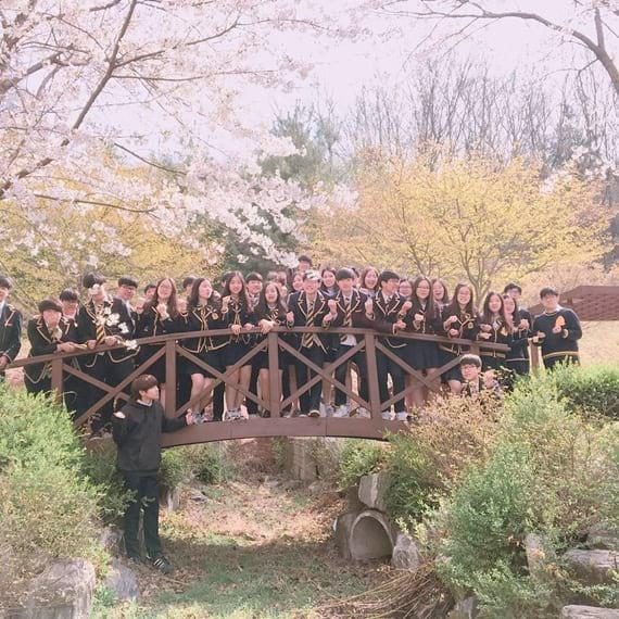 Đồng phục học sinh trường trung học quốc tế Hanbuk