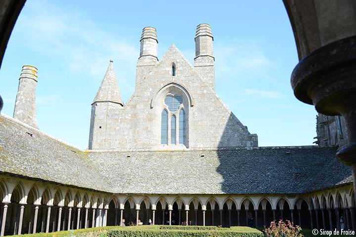 Cloitre moines Mont Saint-Michel