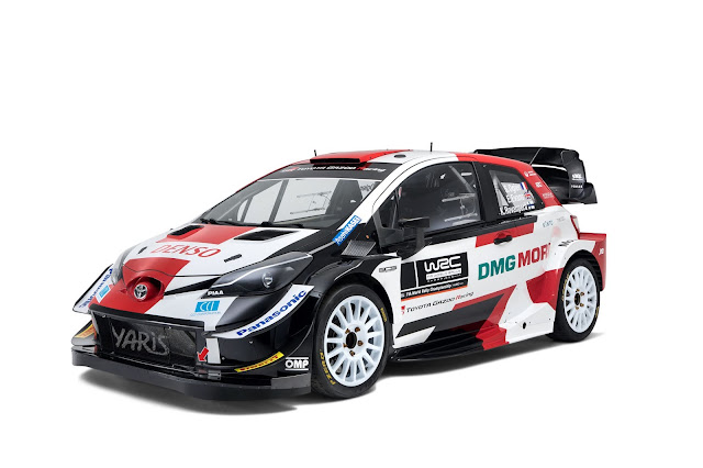 Toyota Yaris World Rally Car new Design 2021