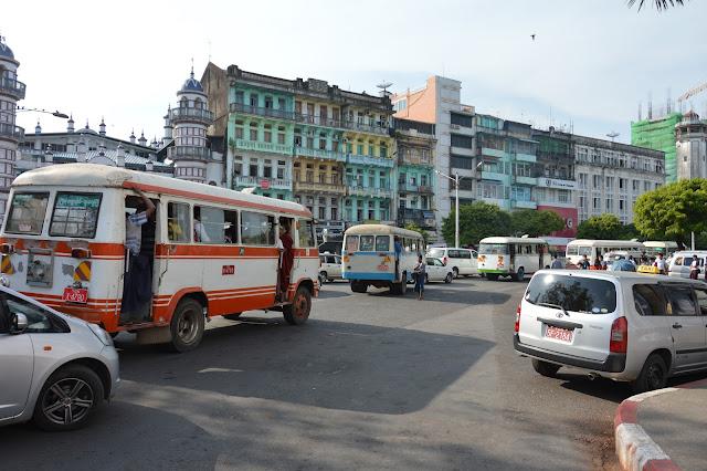 Route de Yangon