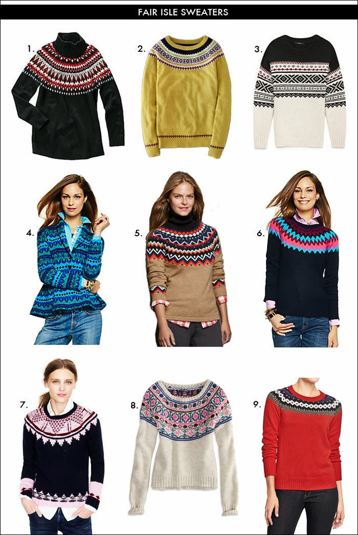 fair isle sweaters, lands end, forever 21, gift ideas, what to wear skiing