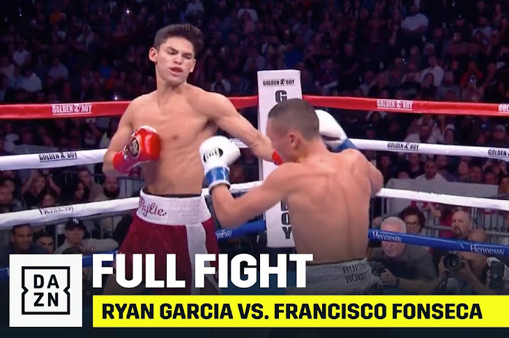 Ryan Garcia Gets First Round KO Over Francisco Fonseca