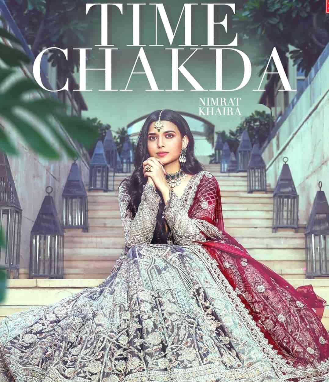 Time Chakda Punjabi Song Image Features Nimrat Khaira