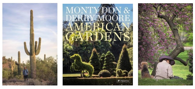 Book cover and selected images from American Gardens. Photo credit: Derry Moore