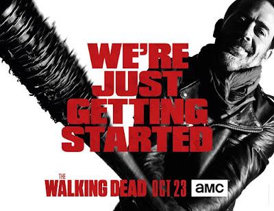 The Walking Dead Season 7: Negan Key Art