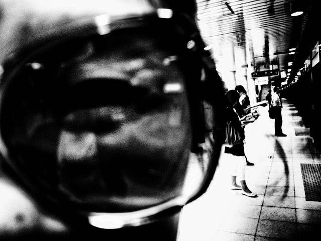 Fotografia in bianco e nero di Daido Moriyama