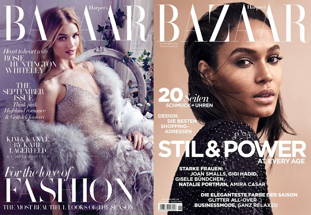 my favourite covers of Harper's Bazaar
