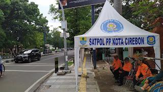 Kota Cirebon Tertib, Satpol PP Siagakan Pos Linmas