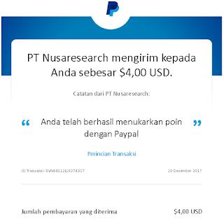pembayaran dari nusaresearch