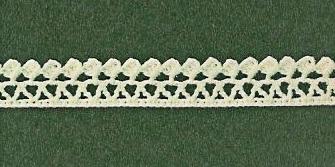 Patron #1842: Encaje a Crochet