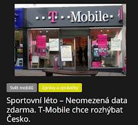 Sportovní léto – Neomezená data zdarma. T-Mobile chce rozhýbat Česko. - AzaNoviny