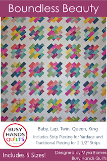 Boundless Beauty by Myra Barnes of Busy Hands Quilts