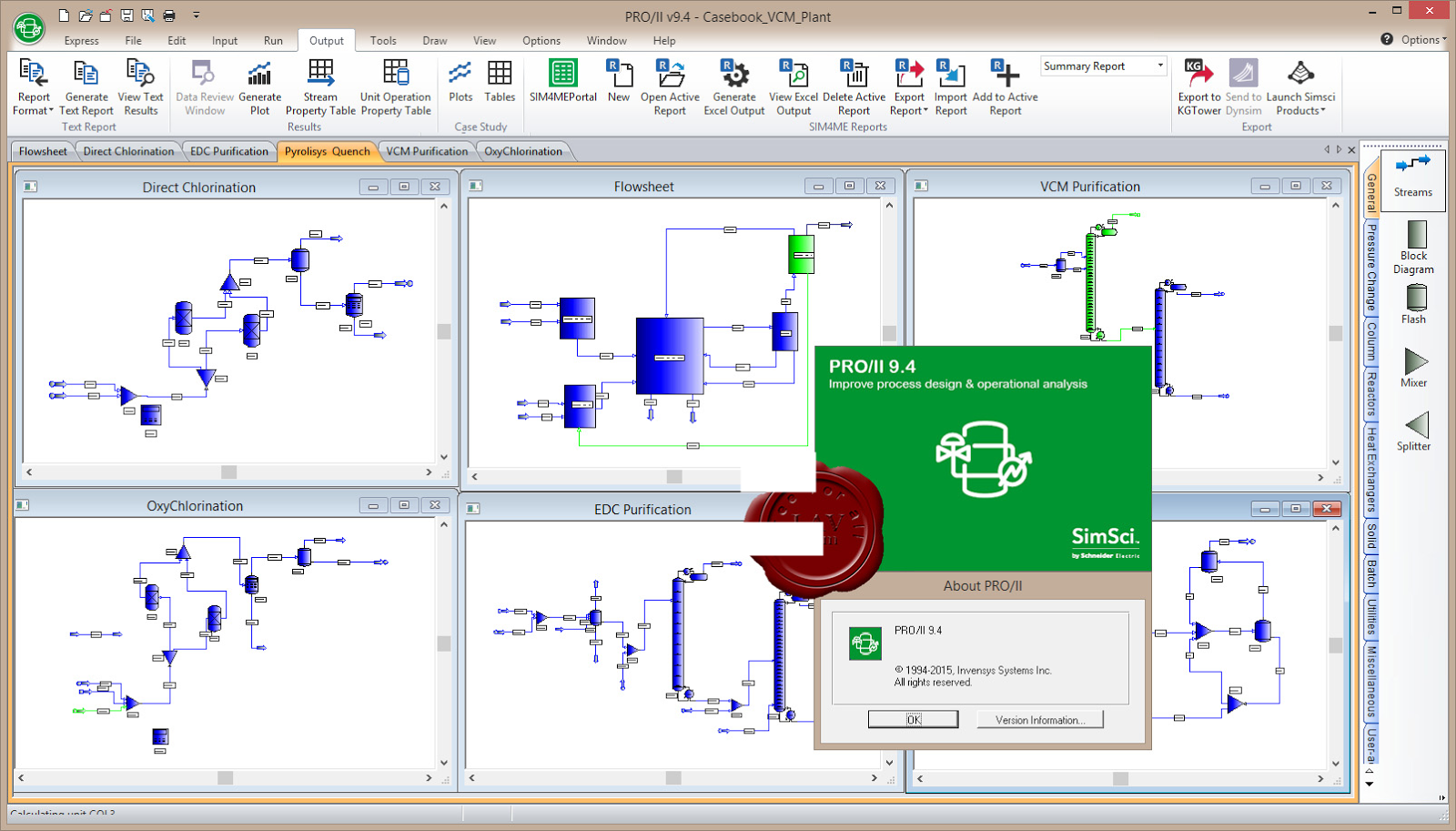 Schneider Electric (ex  Invensys) SimSci PRO/II v9 4 ~ Simulación de