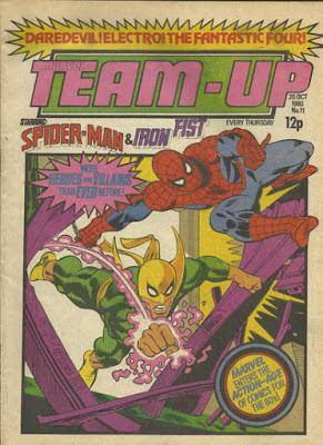 Team-Up #11, Spider-Man and Iron Fist