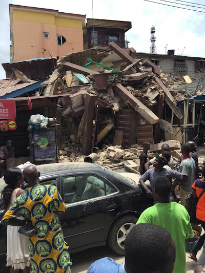 Building collapses in Lagos again