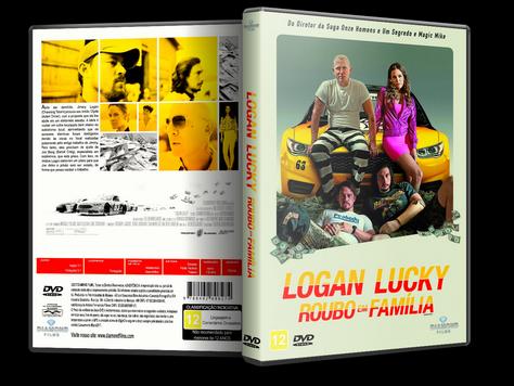 Capa DVD Logan Lucky Roubo em Família [Exclusiva]