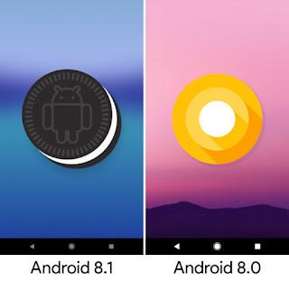 Oreo 8.1 vs Oreo 8.0