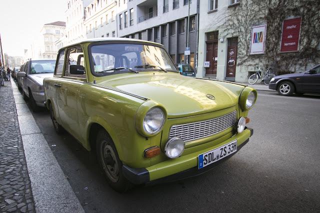 Trabant-Berlino