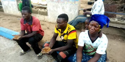 Photo: Three Togolese arrested in Oyo for illegal migration