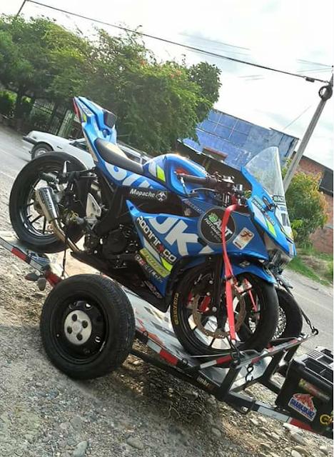 Mengintip Suzuki GSX R150 Di Colombia