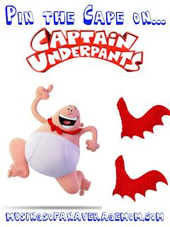 captain underpants party games