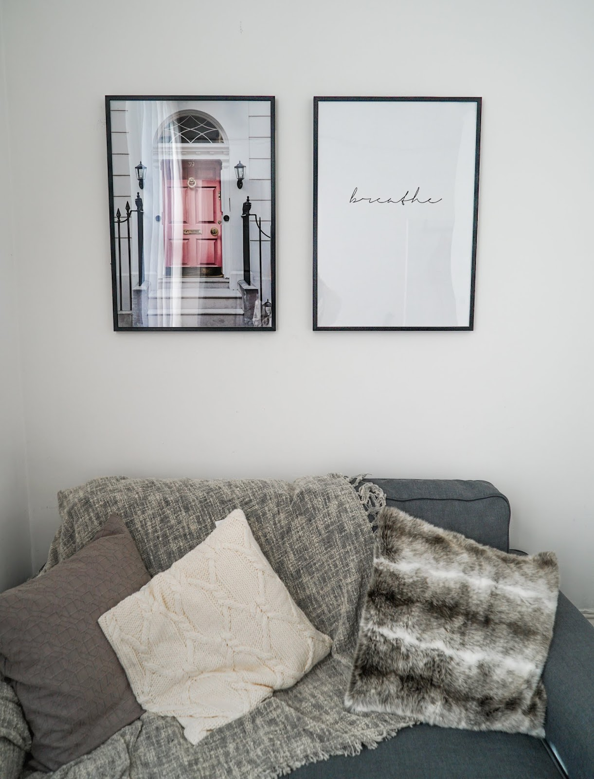 How To Make A Rented Flat Feel Like Home With Desenio - Lauren Rose Style Home Interior Post / London UK Blogger
