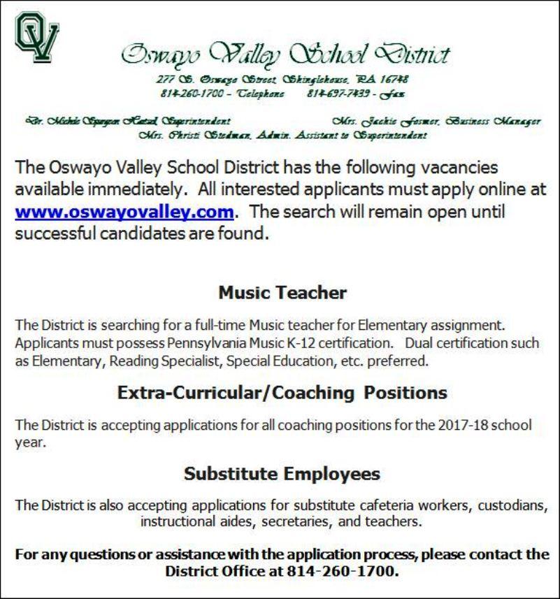 www.oswayovalley.com
