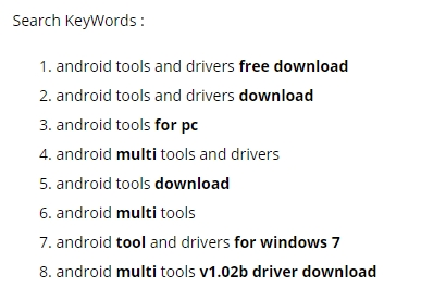 How To Download & Install Android Tools And Drivers
