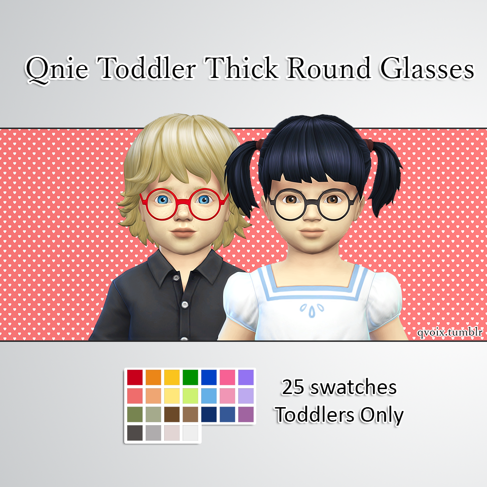 sims 4 cc's - the best: toddlers necklace, clothing, glasses by qvoix, Badezimmer ideen