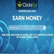 high paying link shortener 2019 Clicksfly